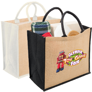 Eco Jute Tote with Gusset 1184