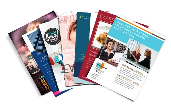 Flyers, Brochures, Folders